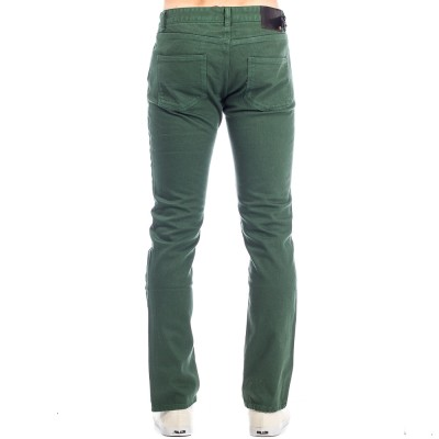 HSU SLIM DENIM DARK GREEN