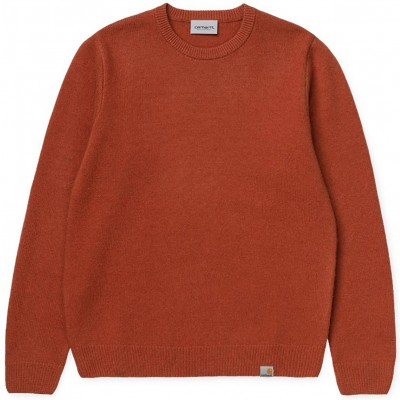 ALLEN SWEATER CINNAMON