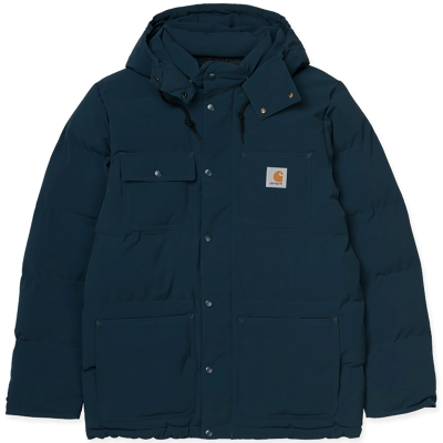 ALPINE COAT DUKE BLUE/BLACK