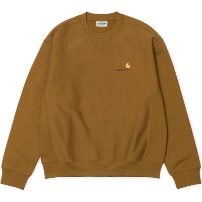AMERICAN SCRIPT SWEAT HAMILTON BROWN