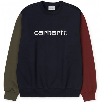 CARHARTT TRICOL SWEAT DARK NAVY