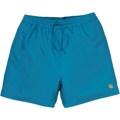 CHASE SWIM TRUNK PIZOL/GOLD