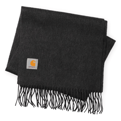 CLAN SCARF DARK GREY HEATHER