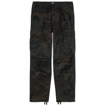 REGULAR CARGO PANT CAMO EVERGREEN STONE