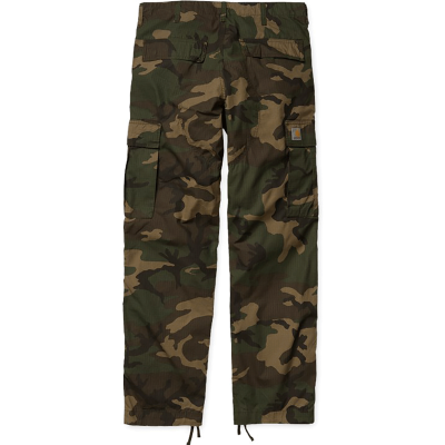 REGULAR CARGO PANT CAMO LAUREL RINSED