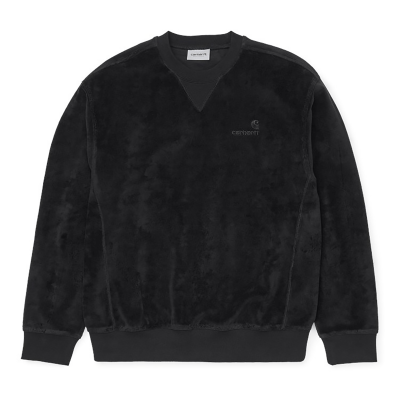 UNITED SCRIPT SWEAT BLACK