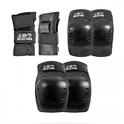 PAD SET JR. SIX PACK BLACK