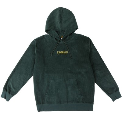 HD KROOKED EYES EMB GREEN CORDUROY