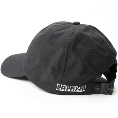 PATCH LOGO CAP BLACK