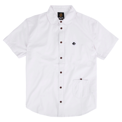 AIME S/S  SHIRT WHITE
