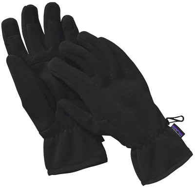 SYNCHILLA FLEECE GLOVES BLACK