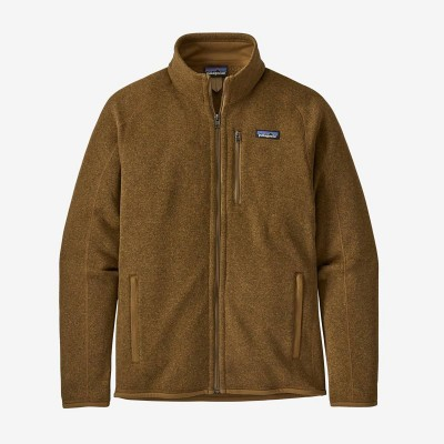 M'S BETTER SWEATER JKT MULCH BROWN