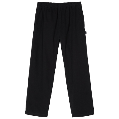 BRUSHED BEACH PANT BLACK