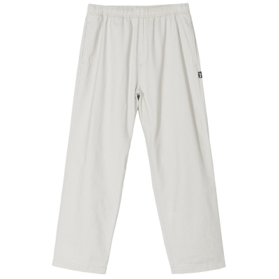 BRUSHED BEACH PANT BONE