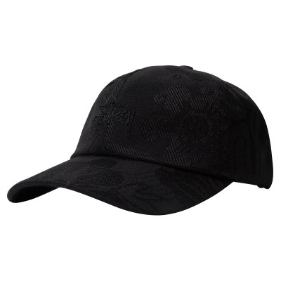 JACQUARD HAWAIIAN LOW PRO CAP BLACK