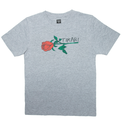 ROSE T-SHIRT GREY