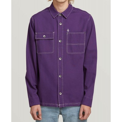FITZKRIEG L/S SHIRT DARK PURPLE