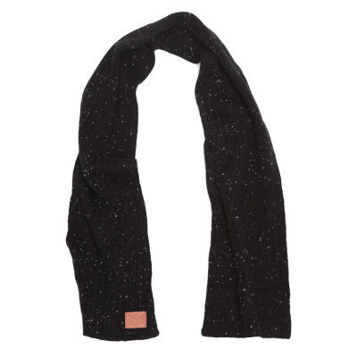 FLECKING SCARF BLACK