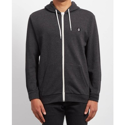ICONIC ZIP HD HEATHER BLACK