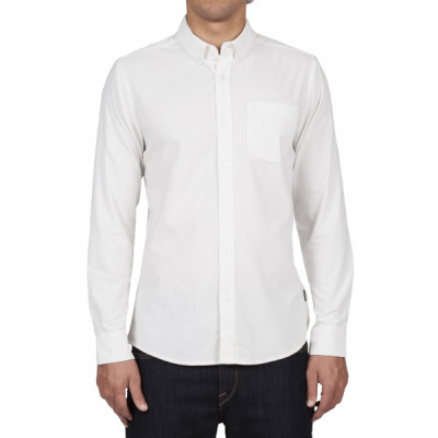 OXFORD STRETCH WHITE