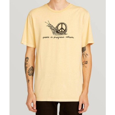 PEACEISPROGRESS SS T-SHIRT LIGHT PEACH