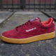 CLUB C 85 INDOOR BURGUNDY/RIOT RED/BL
