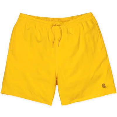 CHASE SWIM TRUNK PRIMULA/GOLD