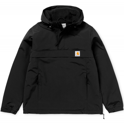 NIMBUS PULLOVER COATED BLACK