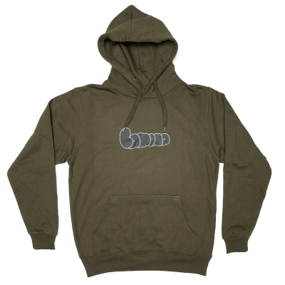 BUBBLE HOODIE NEW ARMY