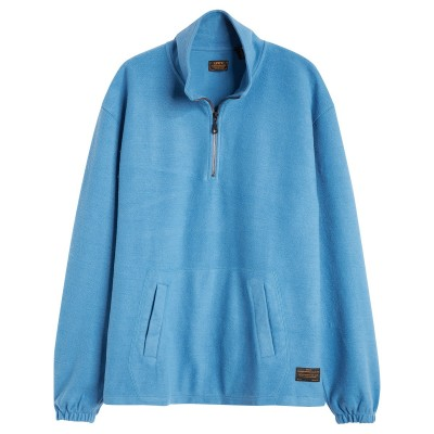 QUARTER ZIP 3 BLUE