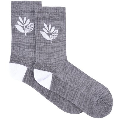 PLANT SOCKS HEATHER GREY