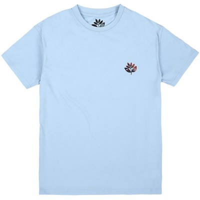 SURREAL PLANT TEE LIGHT BLUE
