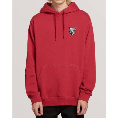 SHOOTS PULLOVER HD BURGUNDY HEATHER