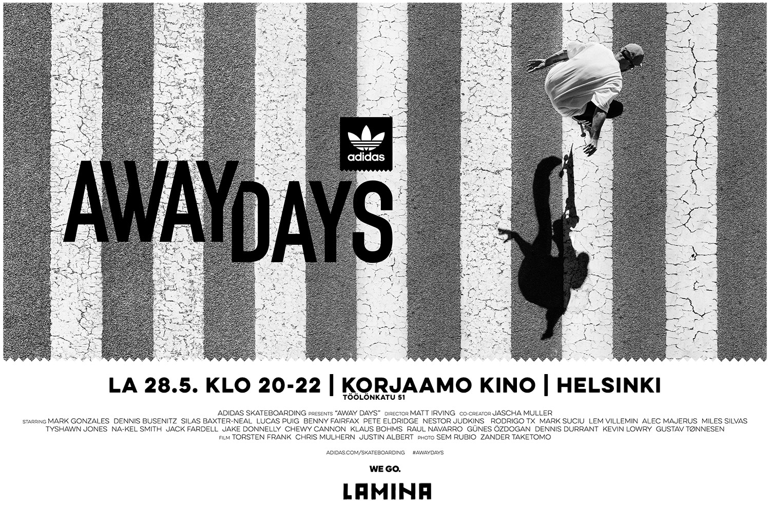 adidas Skateboarding - Away Days - Helsinki